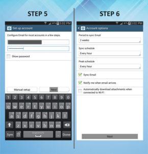 Samsung Galaxy Mega 6.3 Email 5-6