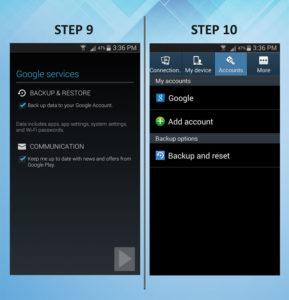 Samsung Galaxy S3 Email 9-10