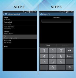 Troubleshooting Samsung Galaxy Mega 6.3 Lock Pin 5-6