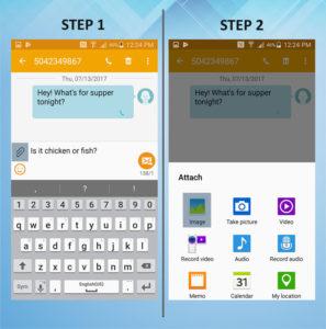 Samsung Galaxy S5 Active Send MMS 1-2