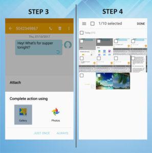 Samsung Galaxy S5 Active Send MMS 3-4
