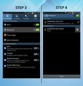 Samsung Galaxy Mega 6.3 Remove Bluetooth 3-4