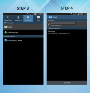 Samsung Galaxy Mega 6.3 Remove Email 3-4