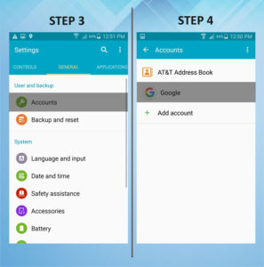 Samsung Galaxy S5 Active Remove Email 3-4