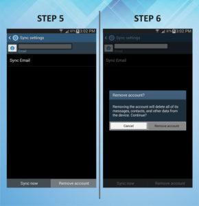 Samsung Galaxy Mega 6.3 Remove Email 5-6