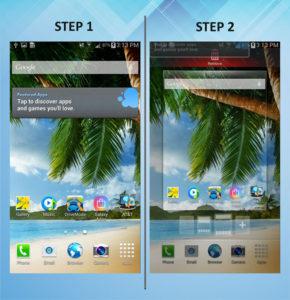 Samsung Galaxy Mega 6.3 Remove Widget 1-2