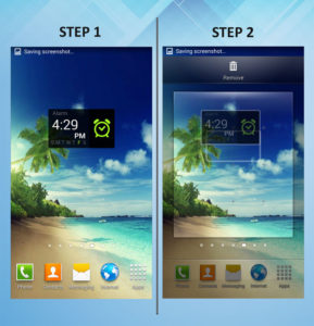 Samsung Galaxy S3 Remove Widget 1-2