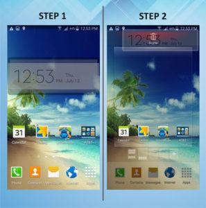 Samsung Galaxy S5 Active Remove Widget 1-2