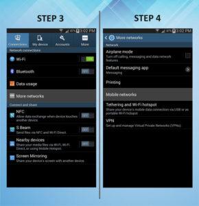 Samsung Galaxy Mega 6.3 Roaming 3-4