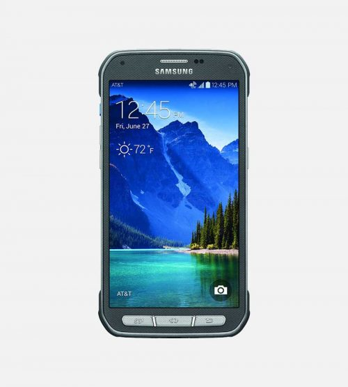Samsung Galaxy S5 Active Gray Front