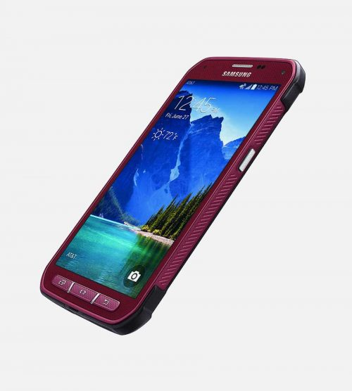 Samsung Galaxy S5 Active Red Front Angles