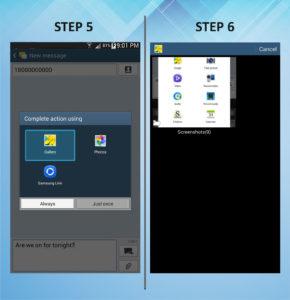 Samsung Galaxy Mega 6.3 Send Text 5-6