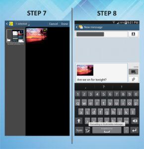 Samsung Galaxy Mega 6.3 Send Text 7-8