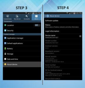 Samsung Galaxy Mega 6.3 Software 3-4