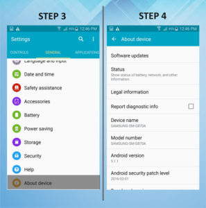 Samsung Galaxy S5 Active Software 3-4
