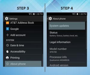 Sonim XP6 Troubleshooting Software Update 3-4
