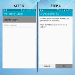 Samsung Galaxy S5 Active Software Update 5-6