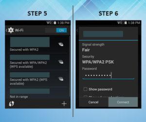 Sonim XP6 Troubleshooting Wifi 5-6