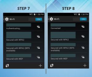 Sonim XP6 Troubleshooting Wifi 7-8