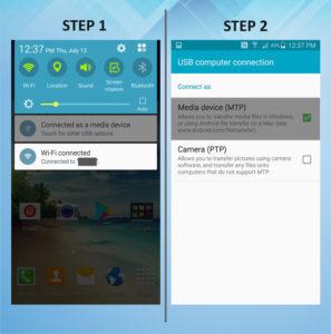 Samsung Galaxy S5 Active USB Connection 1-2
