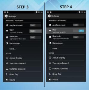 Motorola Droid Ultra Wi-Fi 3-4