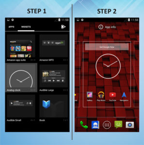 Motorola Droid Ultra Add Widget 1-2