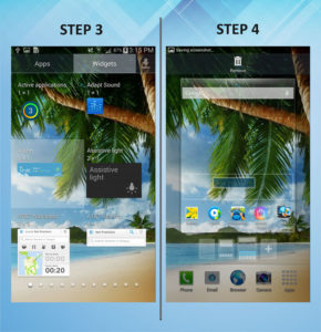 Samsung Galaxy Mega 6.3 Add Widget 3-4