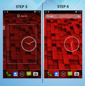 Motorola Droid Ultra Add Widget 3-4