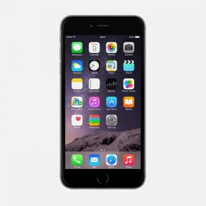 iPhone 6 Plus Space Gray Front