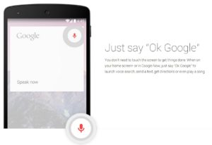10 OK Google on smartphone with Tips of how to