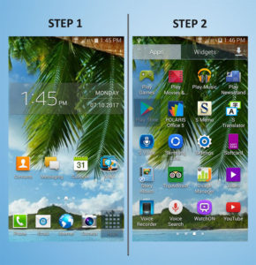 Samsung Galaxy S4 Mini Apps 1-2