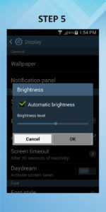 Samsung Galaxy S4 Mini Brightness 5