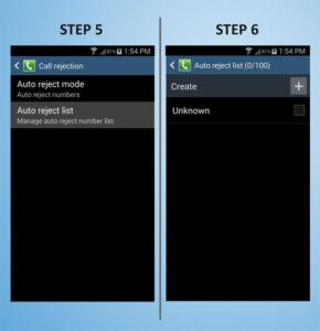 Samsung Galaxy S4 Mini Call Barring 5-6