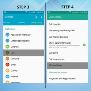 Samsung Galaxy S5 Active Caller FWD 3-4