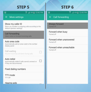 Samsung Galaxy S5 Active Caller FWD 5-6
