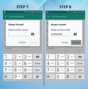 Samsung Galaxy S5 Active Caller FWD 7-8