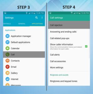Samsung Galaxy S5 Active Caller Reject 3-4