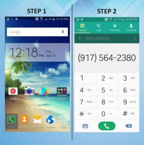 Samsung Galaxy S5 Active Create Contact (2) 1-2