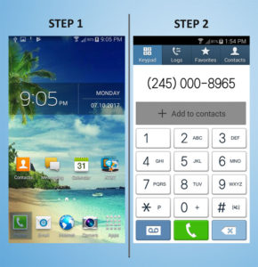 Samsung Galaxy S4 Mini Create Contact (2) 1-2