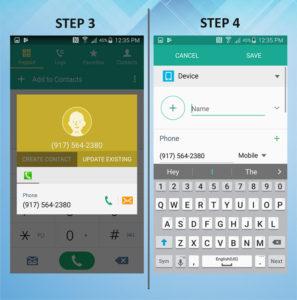 Samsung Galaxy S5 Active Create Contact (2) 3-4