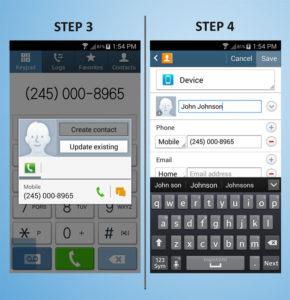 Samsung Galaxy S4 Mini Create Contact (2) 3-4