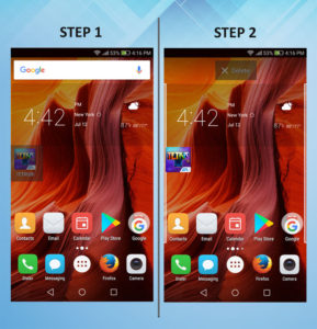 Troubleshooting Huawei Ascend XT Delete app 1-2
