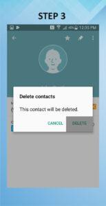 Samsung Galaxy S5 Active Delete Contact 3