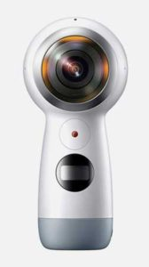 Gear 360 for Samsung S8 white background