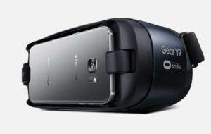 Gear VR Glasses for Samsung S8 white background