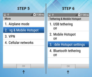 Kyocera DuraXE As A Mobile Hotspot 5-6