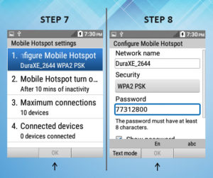 Kyocera DuraXE As A Mobile Hotspot 7-8