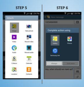 Samsung Galaxy S4 Mini Text 5-6