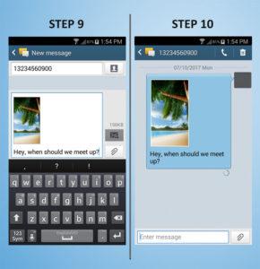 Samsung Galaxy S4 Mini Text 9-10