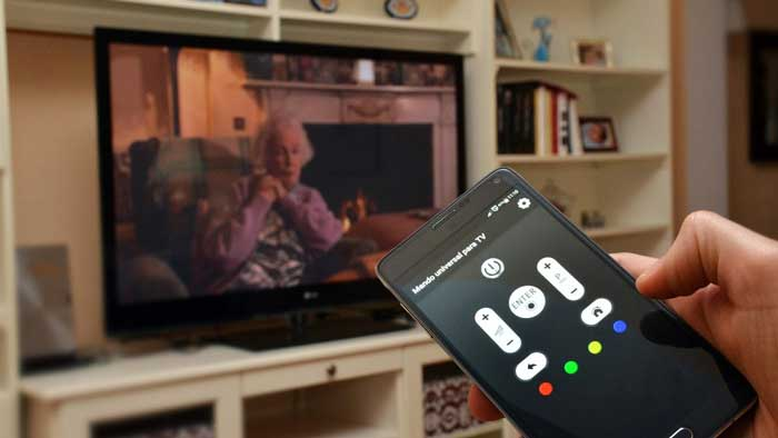 Using a Smartphone as a TV remote